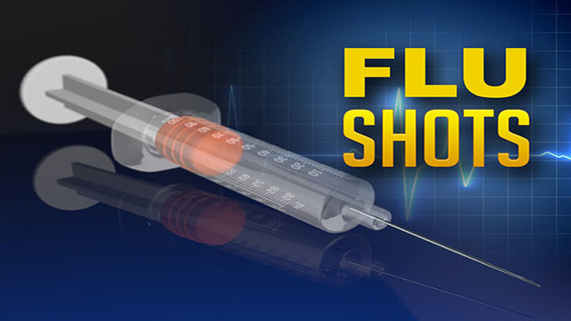Free Flu Shots Available Statewide on Wednesday, Jan 31st