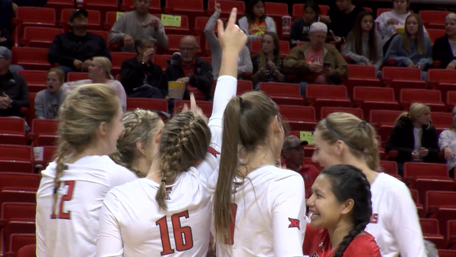 Five Red Raiders Named to Academic All-Big 12 VB Teams