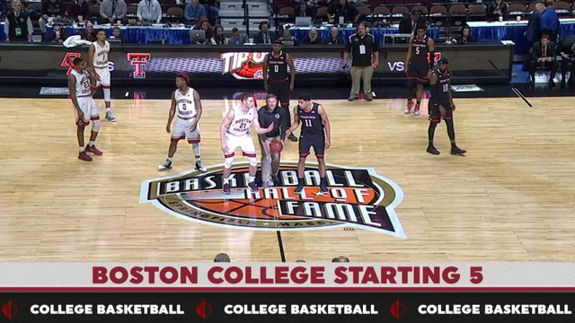 Texas Tech Men's Basketball Wins Tight Battle with Boston College