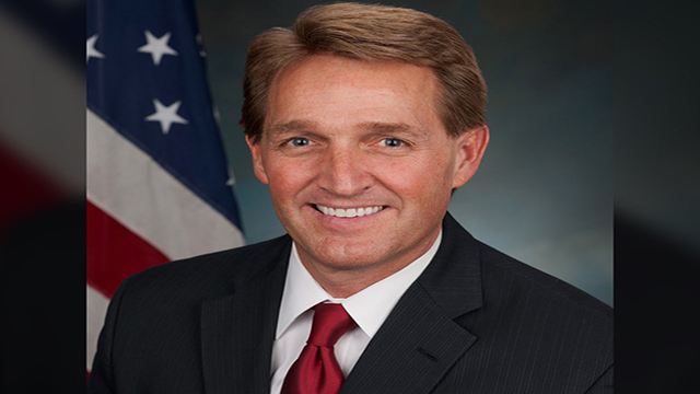 Sen. Flake says GOP is 'toast' if it follows Trump, Moore