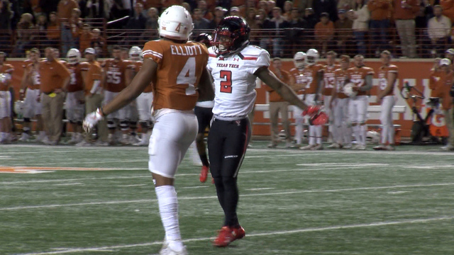 Texas Tech WR Coutee adds another award to his list