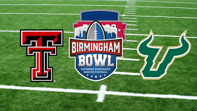 South Florida, Texas Tech to face off in 12th annual Birmingham Bowl