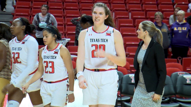 Lady Raiders Drop Fourth Straight Game