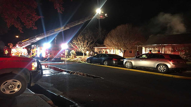 Update: LFR Responds to Central Lubbock House Fire Wednesday Morning