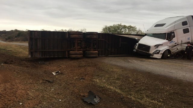 Construction Worker Killed by 18-Wheeler on I-20 Near Sweetwater