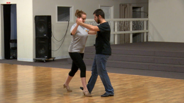 Wish Wednesday: Lauren Learns the Foxtrot for a Good Cause