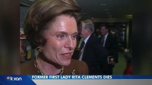 Former Texas first lady Rita Clements, 86, dies in Dallas