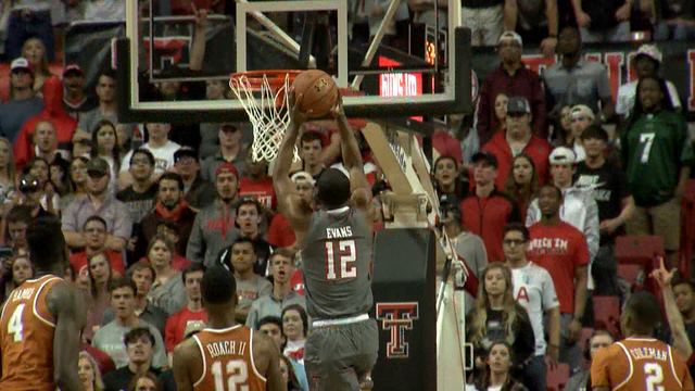 Keenan Evans Hits Overtime Buzzer-Beater to Lift Texas Tech Over Texas