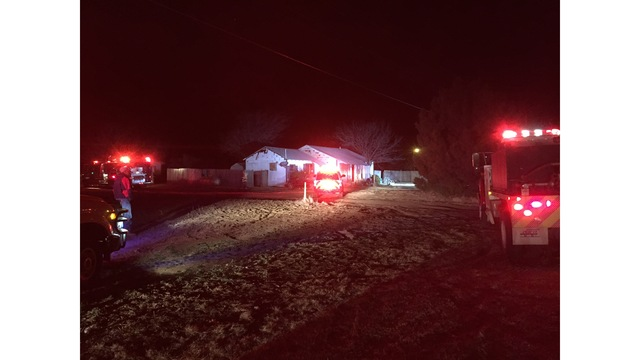 Fire Reported in a North Lubbock County Home Thursday Morning
