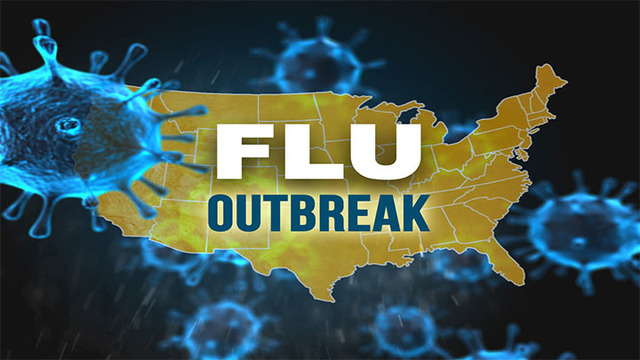 Flu season in 'second wave'