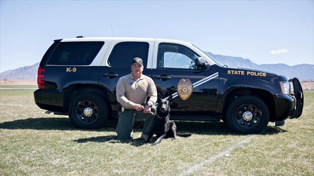 New Mexico State Police Announces Death of K-9
