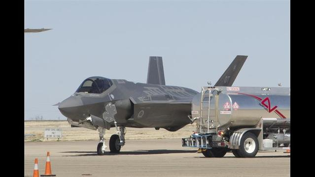 More Problems For F35 Jet Diverted To Lubbock International Airport