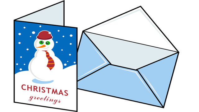 college of media communication providing personalized christmas cards for veterans - Christmas Cards For Veterans