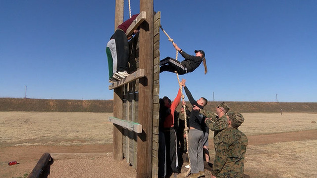 USMC Obstacle Course Training Event Held Saturday at the LPD