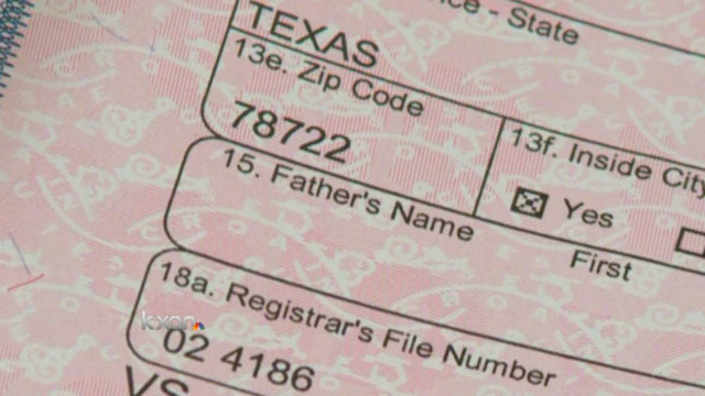 texas urging parents to order birth certificates online