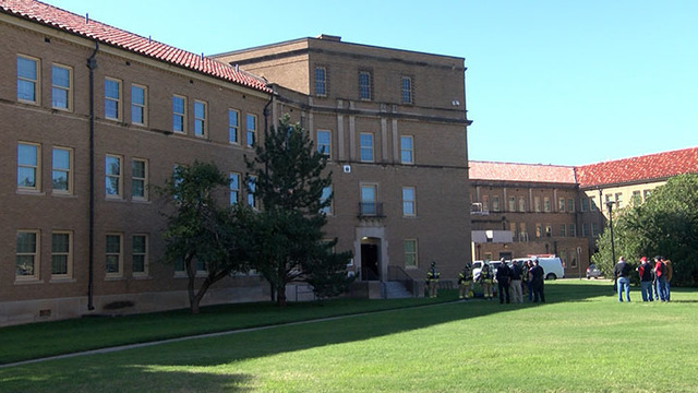 Construction Fire Forces Evacuation of Building at Texas Tech Monday Morning