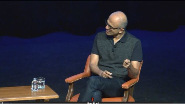 microsoft ceo speaks to ut austin students about the future of