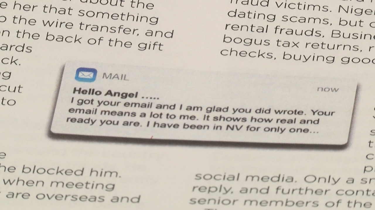 But dating scams you — photo 14