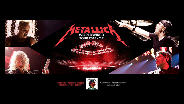 Metallica Comes to Lubbock in 2019