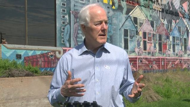 Sen. John Cornyn 'Very Concerned' About Possible Tariffs On Steel and Aluminum