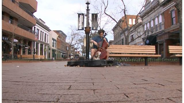 Colorado cello street performer gets $48K UT scholarship