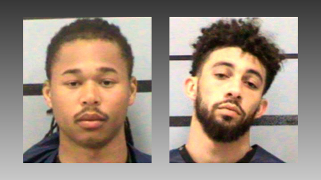 Police release body cam video of Texas Tech players getting arrested