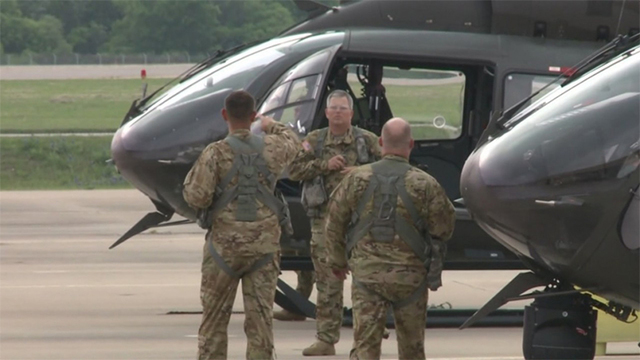 US National Guard deployed to Mexican border