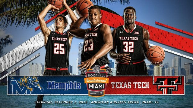 Men's Basketball to Face Memphis in Miami