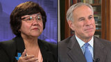 Abbott and Valdez clash over arming teachers and other issues in Texas gubernatorial debate