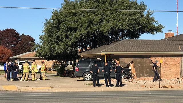 Minor injuries reported after vehicle crashes into South Lubbock home Saturday