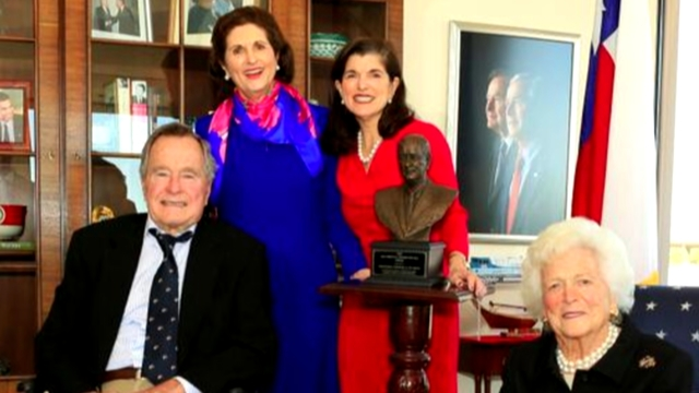 LBJ's daughter remembers George H.W. Bush