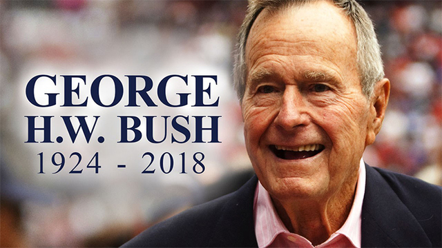Schedule For George H W Bush S Funeral Includes Trip To Capitol