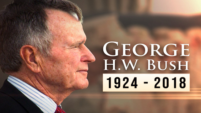 Federal buildings to close Wednesday to honor George H.W. Bush