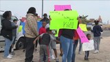 Protesters picket My Little Playhouse daycare in Central Lubbock
