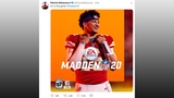 EA announces Patrick Mahomes will be on the cover of Madden
