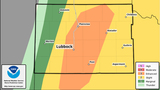 Lubbock has enhanced risk of storms Friday afternoon and evening