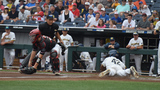 Texas Tech falls to Michigan in game one of the College World Series